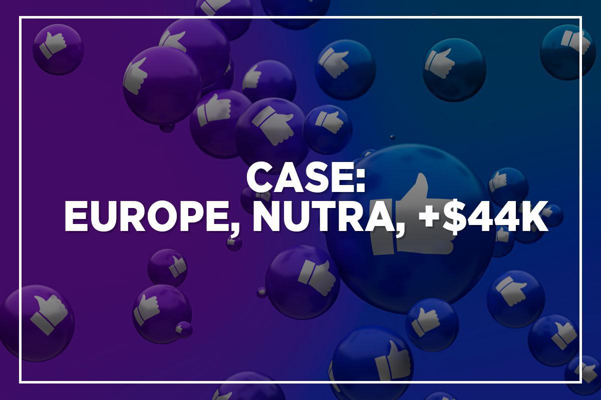Пример использования: привлечение трафика Facebook к предложению Nutra с рентабельностью инвестиций 181%